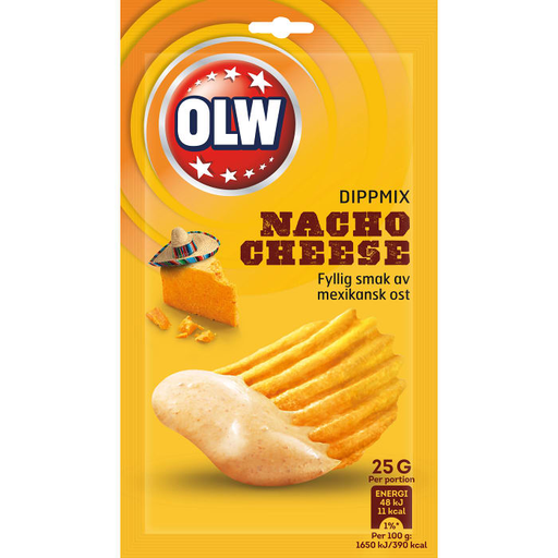 OLW Dip Mix Nacho Cheese - 25g