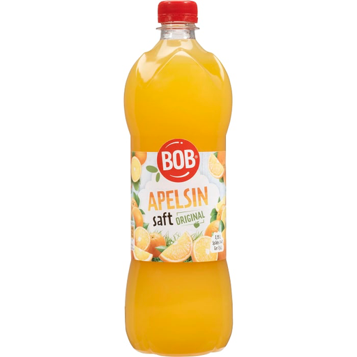BOB Apelsin Saft - Orange Syrup 95cl