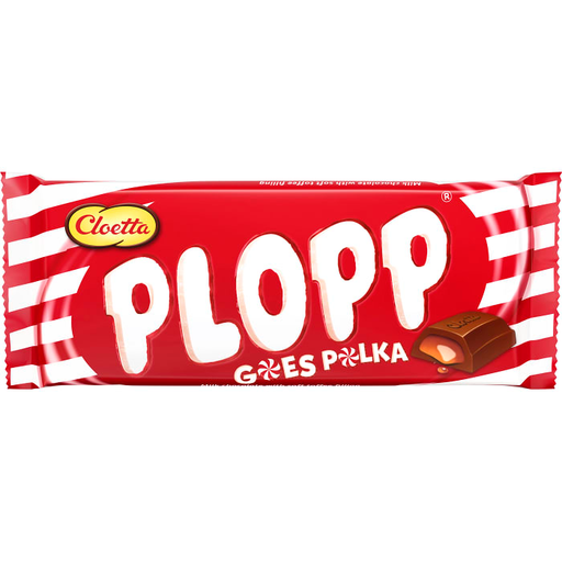 Cloetta Plopp goes Polka - Chocolate & Bar 80g