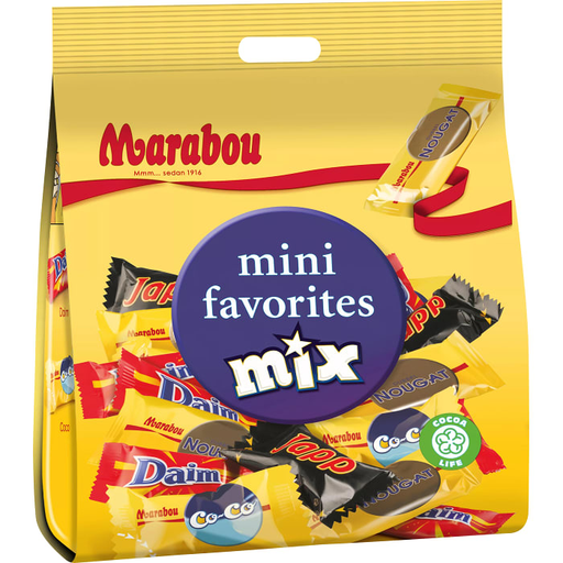 Marabou Mini favorites mix - 188g