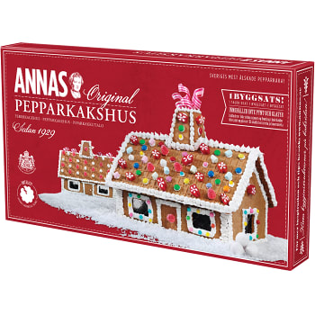 Annas Pepparkakshus Original - Gingerbread house 300 g