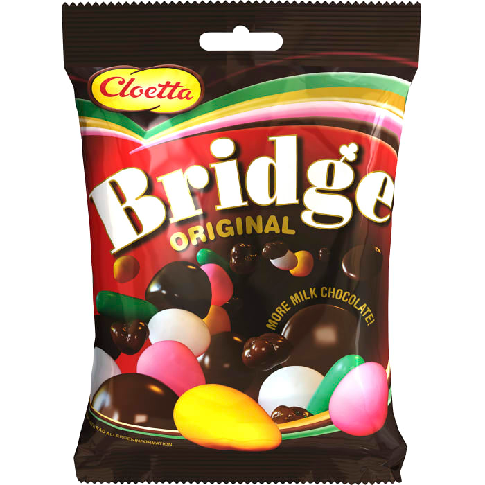 Cloetta Bridge Original - Chocolate, Sweet & Jelly Mix 360g
