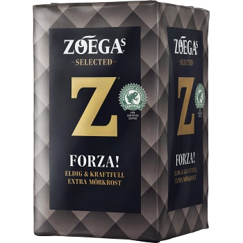 Zoegas Forza - Extra Dark roasted Ground Coffee 450 g