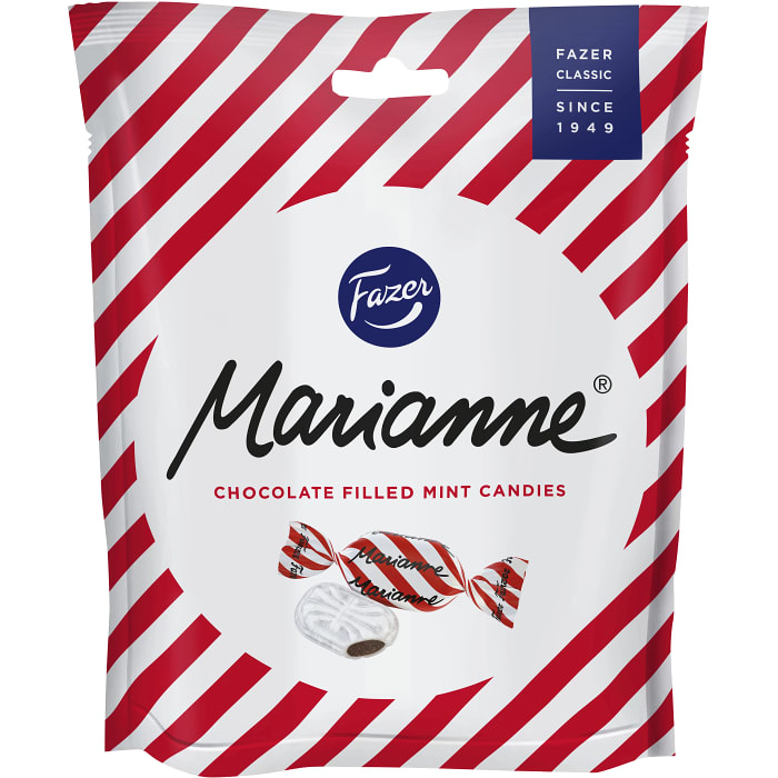 Fazer Marianne - Mint Covered Chocolate Caramel 220 g