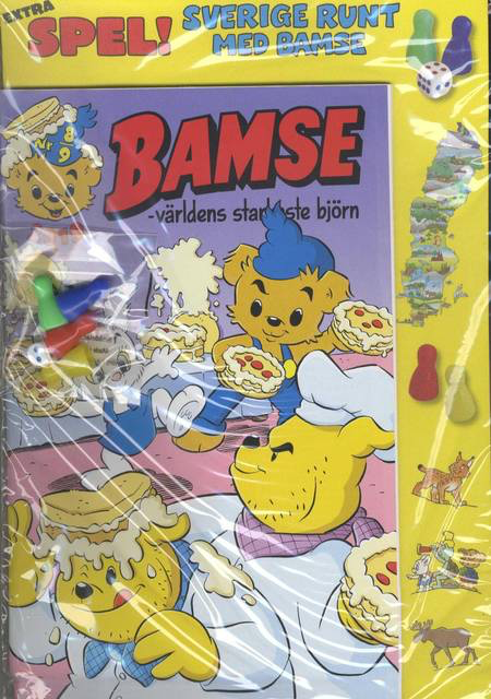 Bamse - July nummer - Childrens Magazine