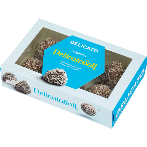 Delicato Delicatoboll - Chocolate ball 6 pieces, 240g