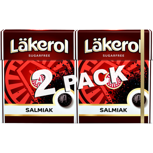 Läkerol Salmiak 2 pcs 50g