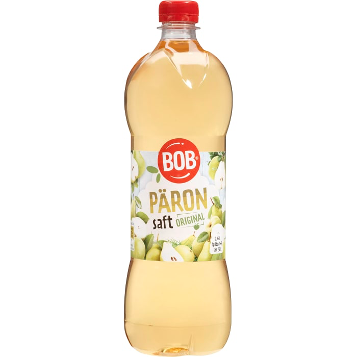 BOB Päronsaft - Pear Syrup 95cl