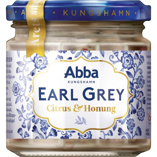 Abba Earl Grey, Citrus & Honung Sill - Earl Grey, Citrus & Honey Herring - 240 g