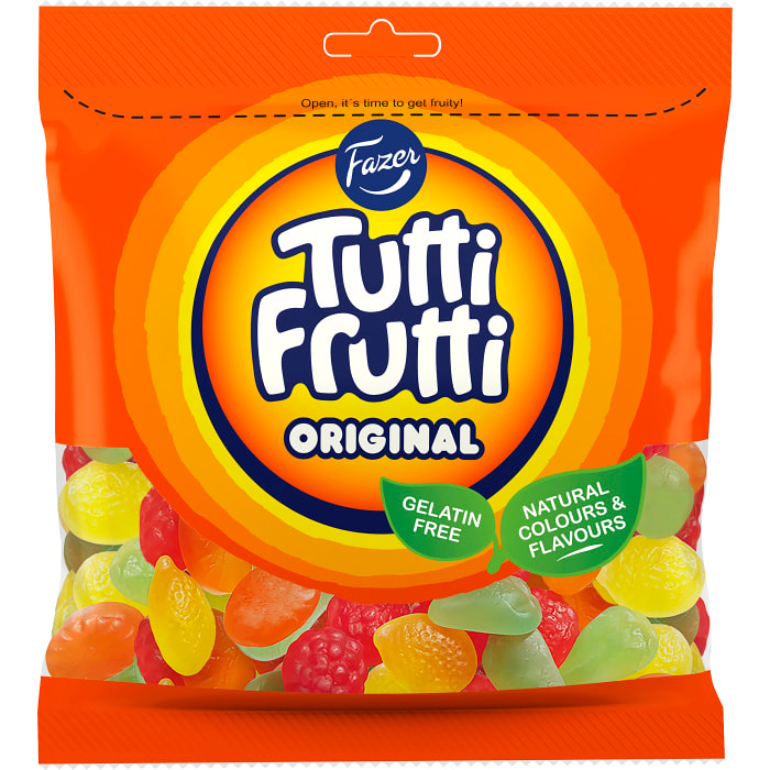 Fazer Tutti Frutti Original  - Jelly Sweet Mix 350g