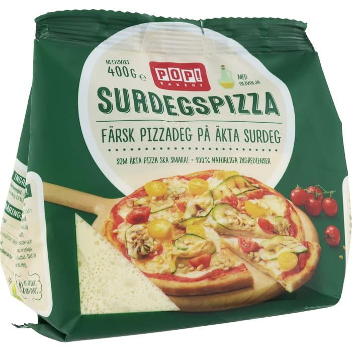 POP Bakery Surdegspizza  - Pizza Sourdough - 400g
