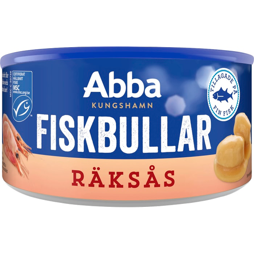 Abba Fiskbullar i räksås - Fish Dumplings in Shrimp Sauce 375g