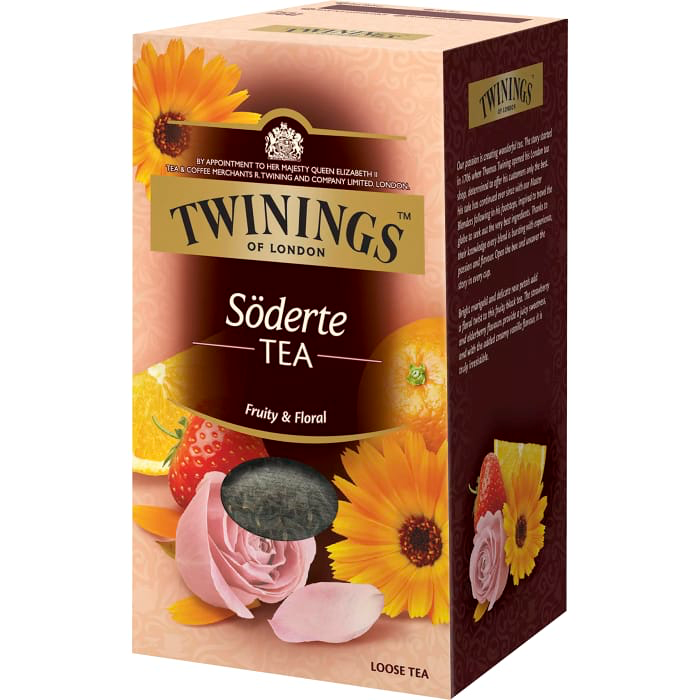 Twinings Söder TEA  - Black Flavoured Tea 200g