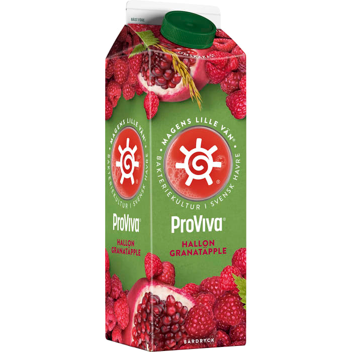 ProViva Hallon & Granatäpple - Raspberry & Pomegranate Soup 1L