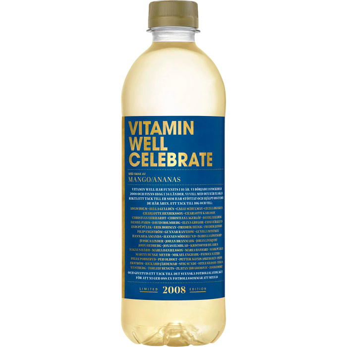 Vitamin Well Celebrate 50cl