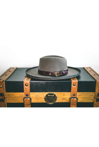 Brown Hat Belt