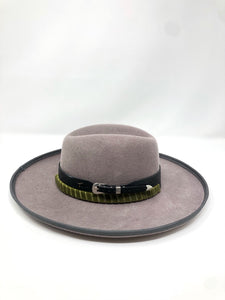 Z Hat (color of choice) + Brown Hat Belt + Black Hat Belt