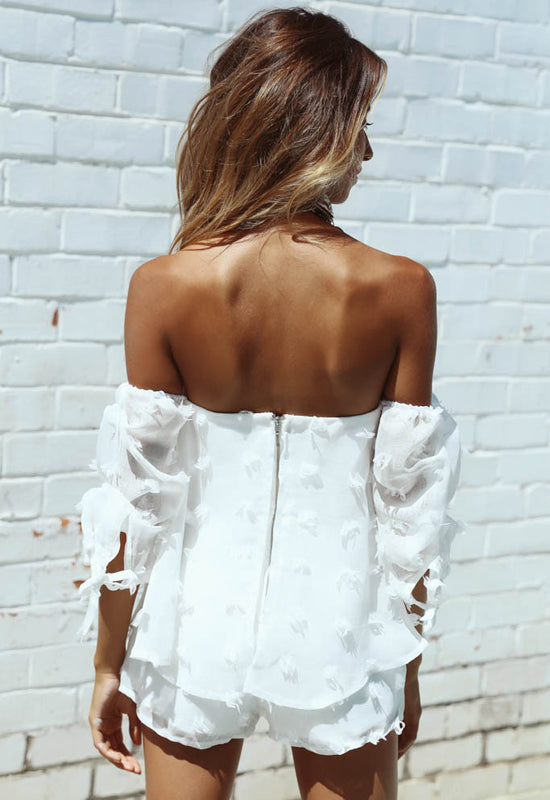 Off-Shoulder Jumpsuit