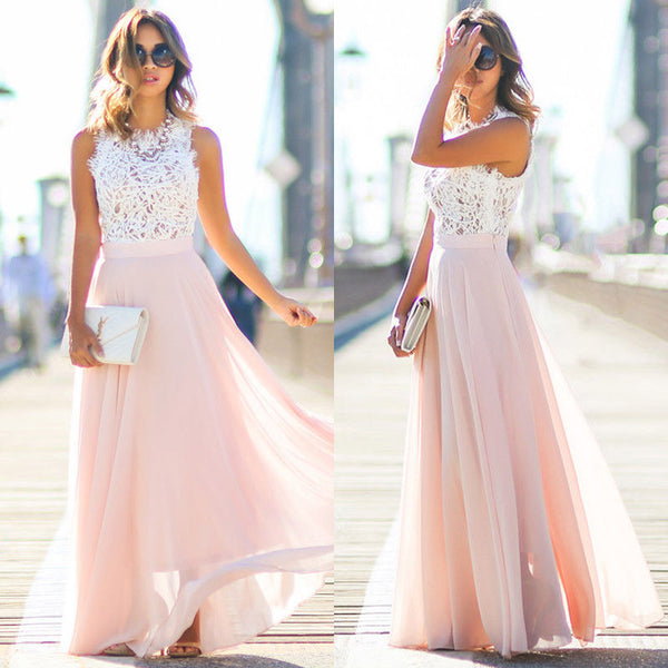 Nude Pink Sundress