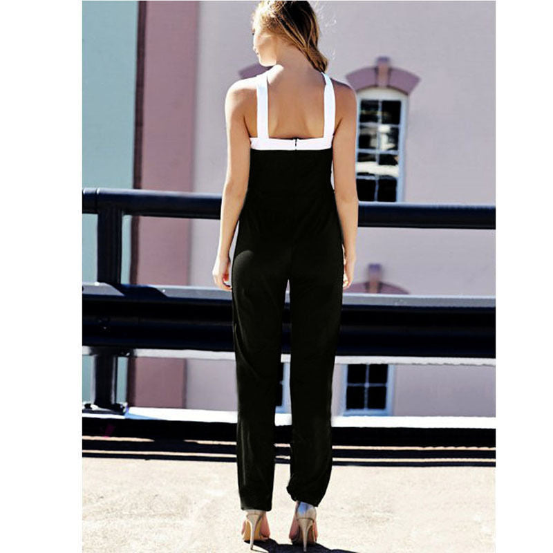 Cross-Strap Jumpsuit