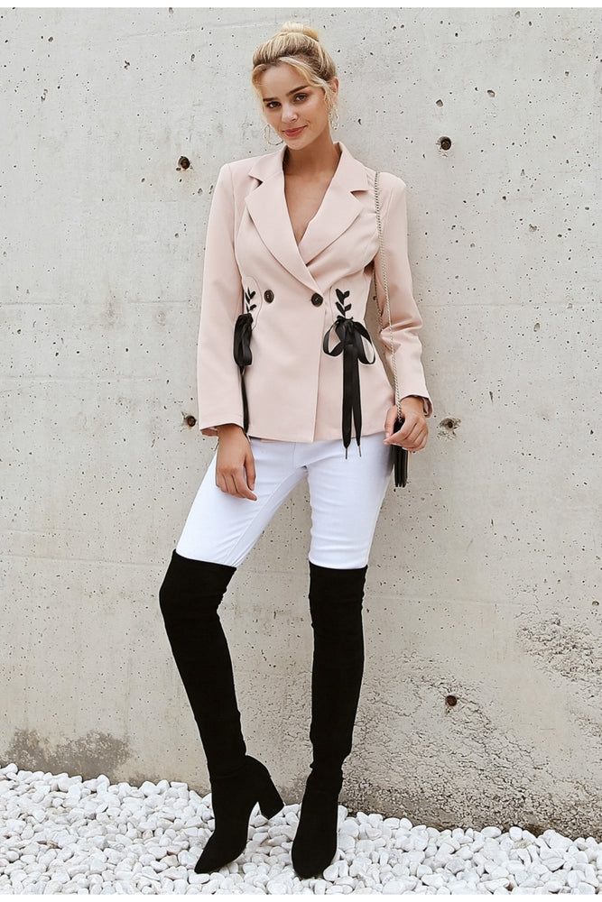 Side Tie Coat