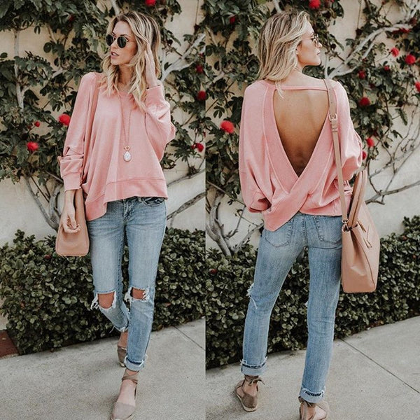 Loose Backless Top