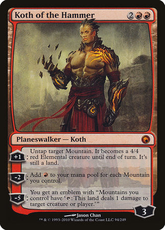 Koth of the Hammer [Scars of Mirrodin] | Matrix Collectibles