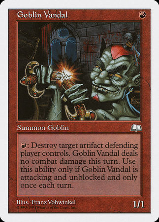 Goblin Vandal [Anthologies] | Matrix Collectibles