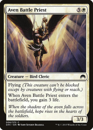 Aven Battle Priest [Magic Origins] | Matrix Collectibles