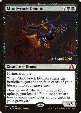 Mindwrack Demon [Shadows over Innistrad Promos] | Matrix Collectibles