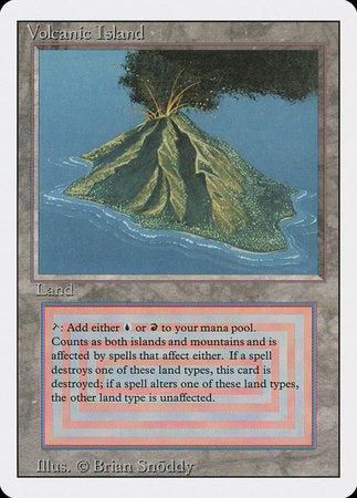 Volcanic Island [Revised Edition] | Matrix Collectibles