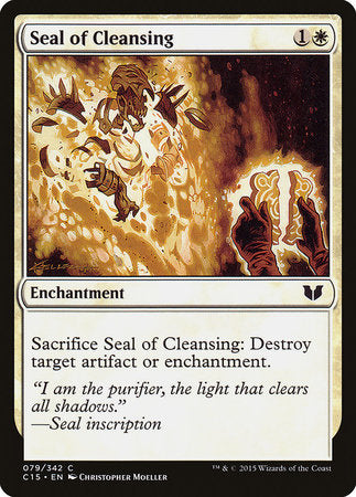 Seal of Cleansing [Commander 2015] | Matrix Collectibles