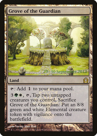 Grove of the Guardian [Return to Ravnica Promos] | Matrix Collectibles