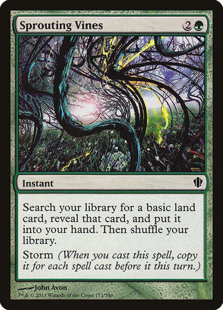 Sprouting Vines [Commander 2013] | Matrix Collectibles