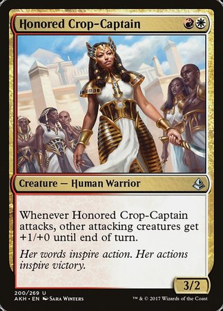 Honored Crop-Captain [Amonkhet] | Matrix Collectibles