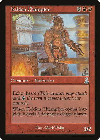 Keldon Champion [Urza's Destiny] | Matrix Collectibles