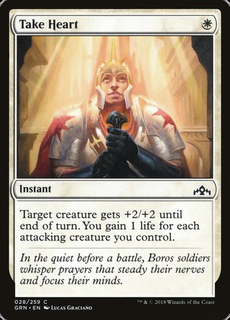 Take Heart [Guilds of Ravnica] | Matrix Collectibles