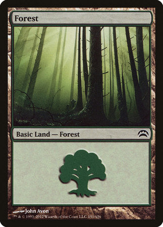 Forest (151) [Planechase 2012] | Matrix Collectibles