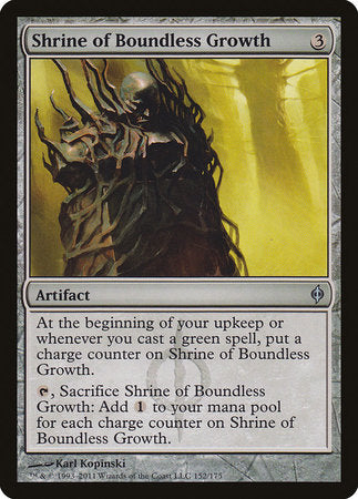 Shrine of Boundless Growth [New Phyrexia] | Matrix Collectibles