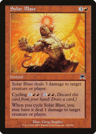 Solar Blast [Onslaught] | Matrix Collectibles