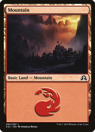Mountain (294) [Shadows over Innistrad] | Matrix Collectibles