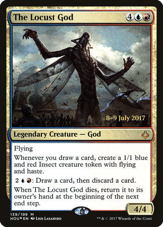 The Locust God [Hour of Devastation Promos] | Matrix Collectibles