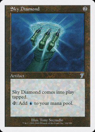 Sky Diamond [Seventh Edition] | Matrix Collectibles