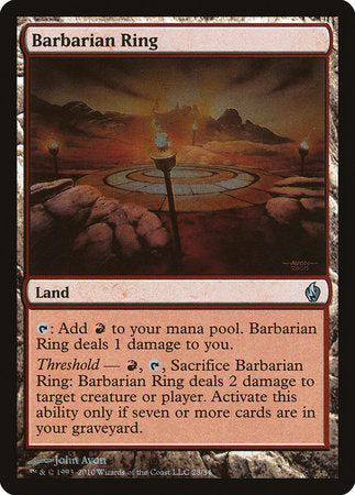Barbarian Ring [Premium Deck Series: Fire and Lightning] | Matrix Collectibles