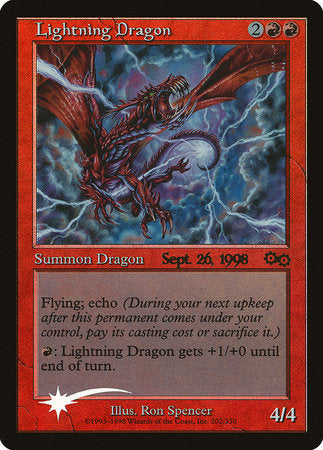 Lightning Dragon [Prerelease Events] | Matrix Collectibles