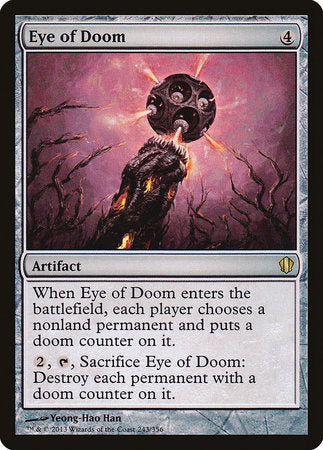 Eye of Doom [Commander 2013] | Matrix Collectibles