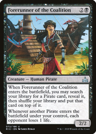 Forerunner of the Coalition [Rivals of Ixalan] | Matrix Collectibles