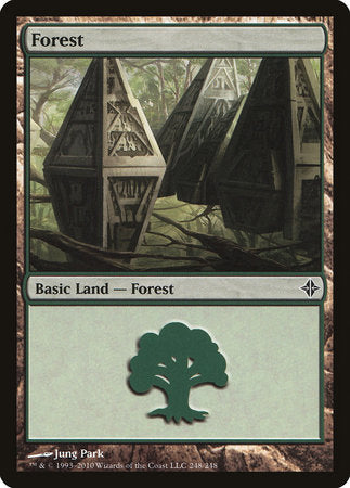 Forest (248) [Rise of the Eldrazi] | Matrix Collectibles
