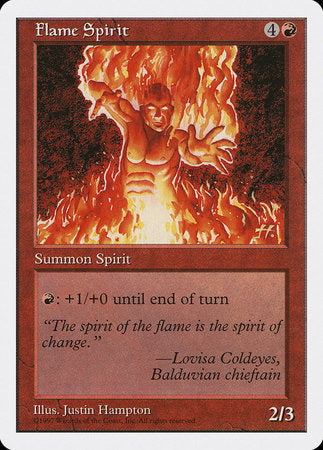 Flame Spirit [Fifth Edition] | Matrix Collectibles