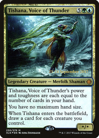 Tishana, Voice of Thunder [Ixalan Promos] | Matrix Collectibles